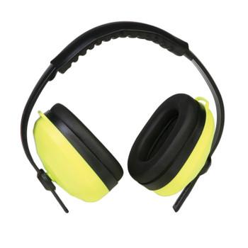 14235 ERB 105 Ear Muff Hi Viz Lime Hearing Protection