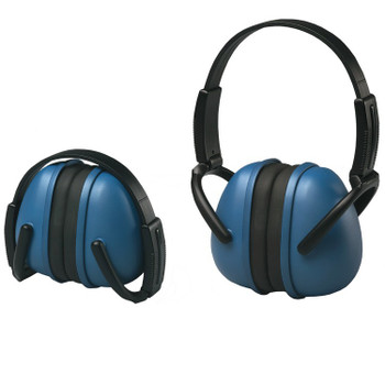 14231 ERB 239 Foldable Ear Muff Blue Hearing Protection