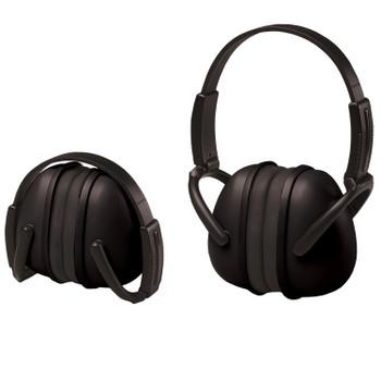 14241 ERB 239 Foldable Ear Muff Black Hearing Protection