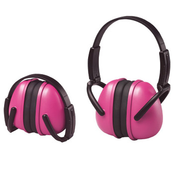 14242 ERB 239 Foldable Ear Muff Pink Hearing Protection
