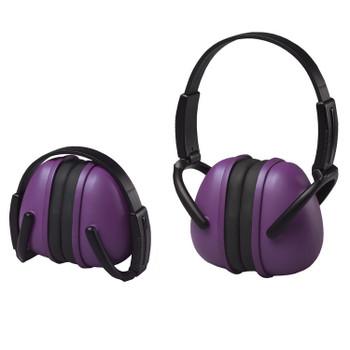 14243 ERB 239 Foldable Ear Muff Purple Hearing Protection