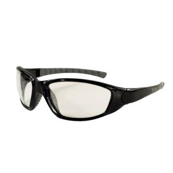 15412 ERB Ammo Black frame, No Foam, Clear Anti-fog lens Eye Protection