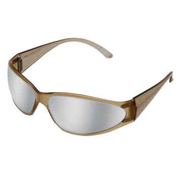 15406 ERB Boas Brown frame, Silver Mirror lens Eye Protection