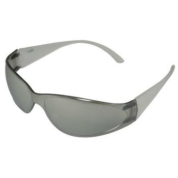 15283 ERB Boas Clear frame, Silver Mirror lens Eye Protection