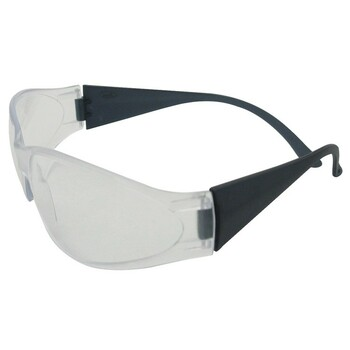 15281 ERB Boas Smoke frame, Clear lens Eye Protection