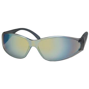 15286 ERB Boas Smoke frame, Gold Mirror lens Eye Protection