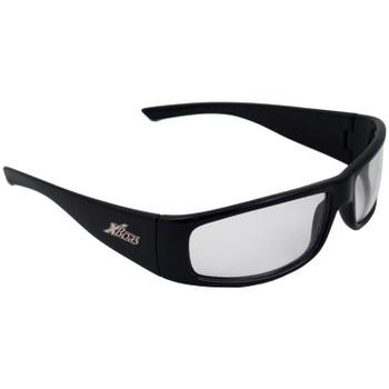 17922 ERB Boas XTreme Black frame, Silver Mirror lens Eye Protection