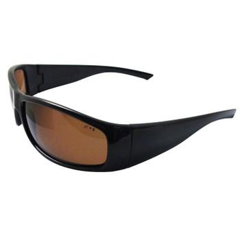 17923 ERB Boas XTreme Black frame, polarized lens Eye Protection