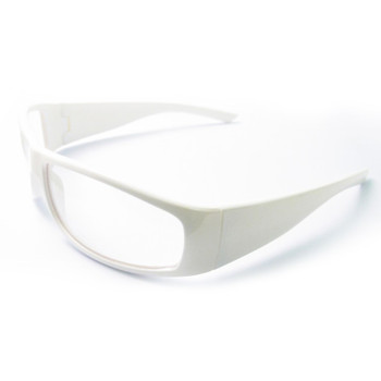 17927 ERB Boas XTreme White frame, clear lens Eye Protection