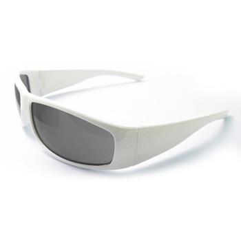 17928 ERB Boas XTreme White frame, smoke lens Eye Protection