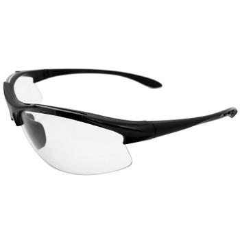 18612 ERB Commandos Black frame Clear lens Eye Protection