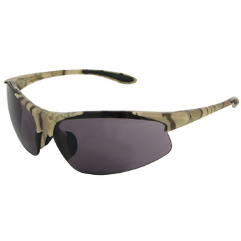18615 ERB Commandos Camo frame, Smoke lens Eye Protection