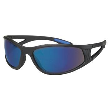 16673 ERB ERBAN Black frame, Blue Mirror lens Eye Protection