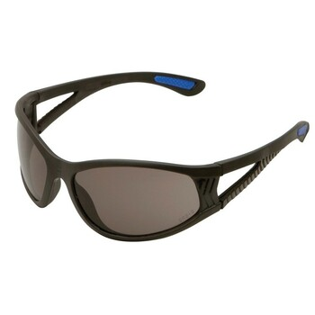 16671 ERB ERBAN Black frame, Smoke lens Eye Protection