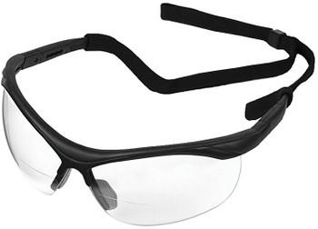 16870 ERB ERBX Black frame, Clear lens 1.0 Reader Eye Protection