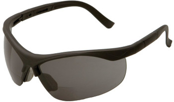 16874 ERB ERBX Black frame, Smoke lens 1.0 Reader Eye Protection
