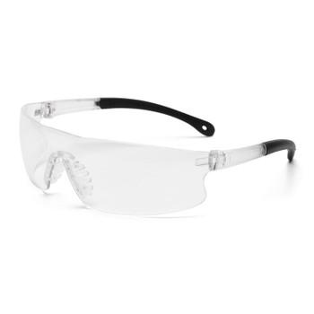 15529 ERB Invasion Black frame, Clear lens Eye Protection