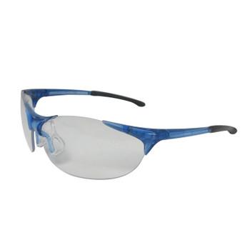 16810 ERB Keystone Blue frame, Clear lens Eye Protection