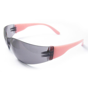 17947 ERB Lucy Pink temple, Smoke Anti-fog lens Eye Protection