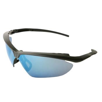 17976 ERB Nightfire Black frame, Blue Mirror lens Eye Protection