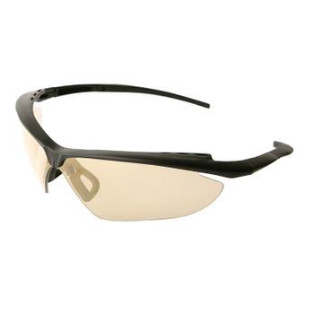 17978 ERB Nightfire Black frame, Gold Mirror lens Eye Protection