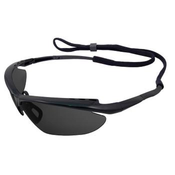 17983 ERB Nightfire Black frame, Smoke Anti-fog lens Eye Protection