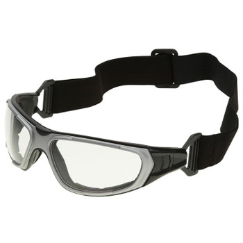 17997 ERB NT2 Notched foam liner, Gray frame, Clear Anti-Fog lens Eye Protection