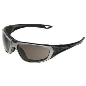 17998 ERB NT2 Notched foam liner, Gray frame, Smoke Anti-fog lens Eye Protection
