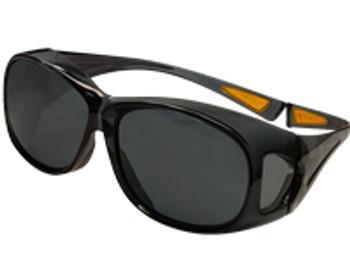 15657 ERB OTG (Over the Glass) Clear frame, Smoke Anti-fog lens Eye Protection