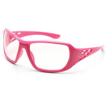 17953 ERB Rose Pink frame, Clear lens Eye Protection