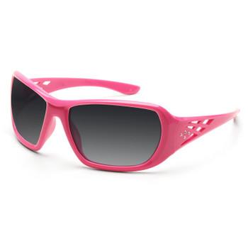 17954 ERB Rose Pink frame, Smoke lens Eye Protection