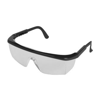 15237 ERB Sting-Rays Black frame, Clear Anti-Fog lens Eye Protection