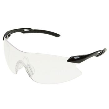15420 ERB Strikers Black/Silver frame, Clear lens Eye Protection