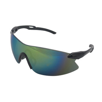 15424 ERB Strikers Black/Silver frame, Gold mirror lens Eye Protection