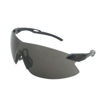 15421 ERB Strikers Black/Silver frame, Smoke lens Eye Protection