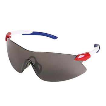 15428 ERB Strikers Red/White/Blue frame, Smoke lens Eye Protection