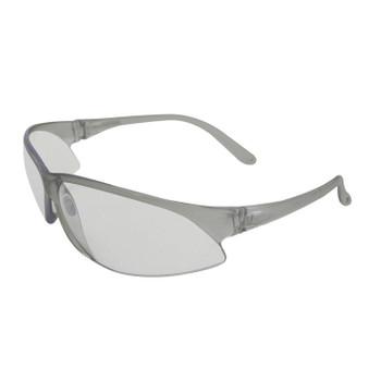 16503 ERB SupERBs Silver frame, Clear lens Eye Protection