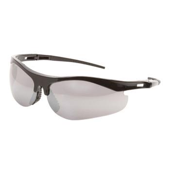 16720 ERB Survivors Black frame, Silver Mirror lens Eye Protection
