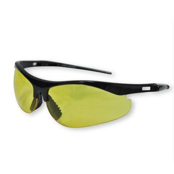 16717 ERB Survivors Black frame, Amber Anti-fog lens Eye Protection