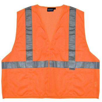14519 ERB S15 Class 2 Mesh Hi Viz Orange Large Safety Apparel - Aware Wear & Hi Viz Ts