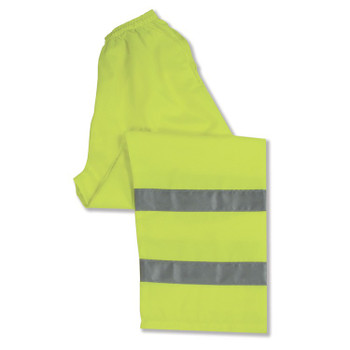 14547 ERB S21 Class E Pants Hi Viz Lime X-Large Safety Apparel - Aware Wear & Hi Viz Ts