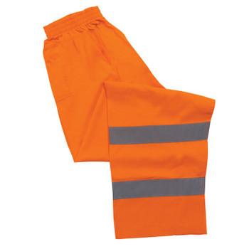 14567 ERB S21 Class E Pants Hi Viz Orange X-Large Safety Apparel - Aware Wear & Hi Viz Ts