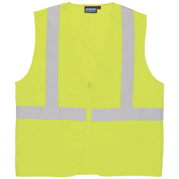 61715 ERB S388Z Class 2 Oxford Hi-Viz Lime 4X Safety Apparel - Aware Wear & Hi Viz Ts
