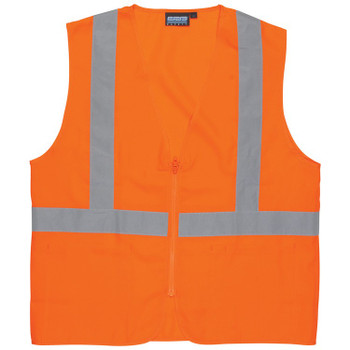 61723 ERB S388Z Class 2 Oxford Hi-Viz Orange 3X Safety Apparel - Aware Wear & Hi Viz Ts