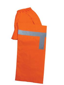 61523 ERB S373PT Class E Lightweight Rain Pants Hi Viz Orange 4X Safety Apparel - Aware Wear & Hi Viz Ts