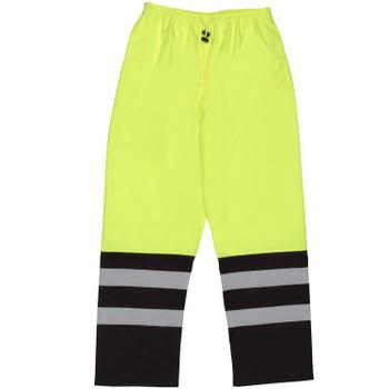 62108 ERB S649 Class E Pants Hi Viz Lime L Safety Apparel - Aware Wear & Hi Viz Ts