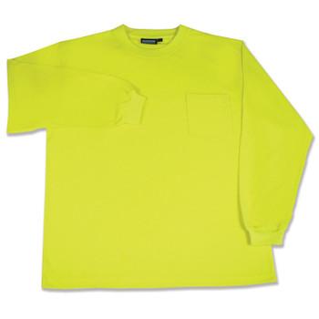 14119 ERB 9602 Non-ANSI T-Shirt Hi Viz Lime XL Safety Apparel - Aware Wear & Hi Viz Ts