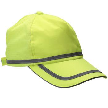 61705 ERB S108 Ball Cap Hi Viz Lime Safety Apparel - Aware Wear & Hi Viz Ts