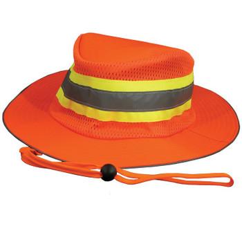 61588 ERB S230 BOONIE HAT Hi Viz Orange Safety Apparel - Aware Wear & Hi Viz Ts