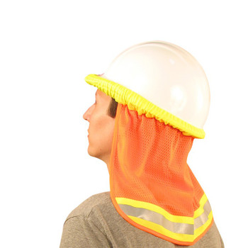 19282 ERB S268 Mesh Neck Shield Hi Viz Orange Safety Apparel - Aware Wear & Hi Viz Ts